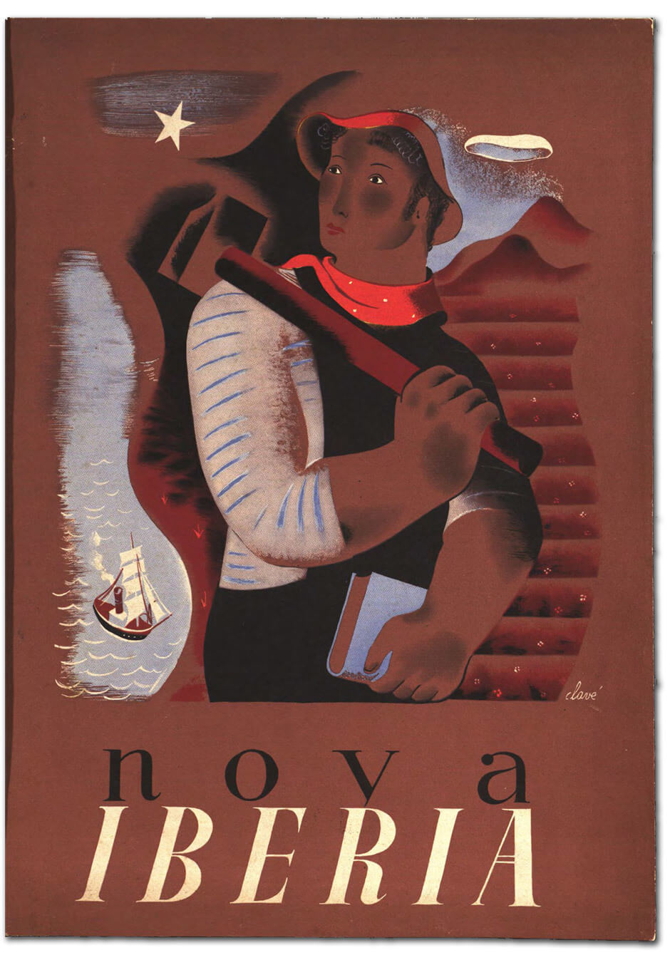Art Canada Institute, over of the first issue of the anti-fascist Spanish publication Nova Iberia (January 1937)
