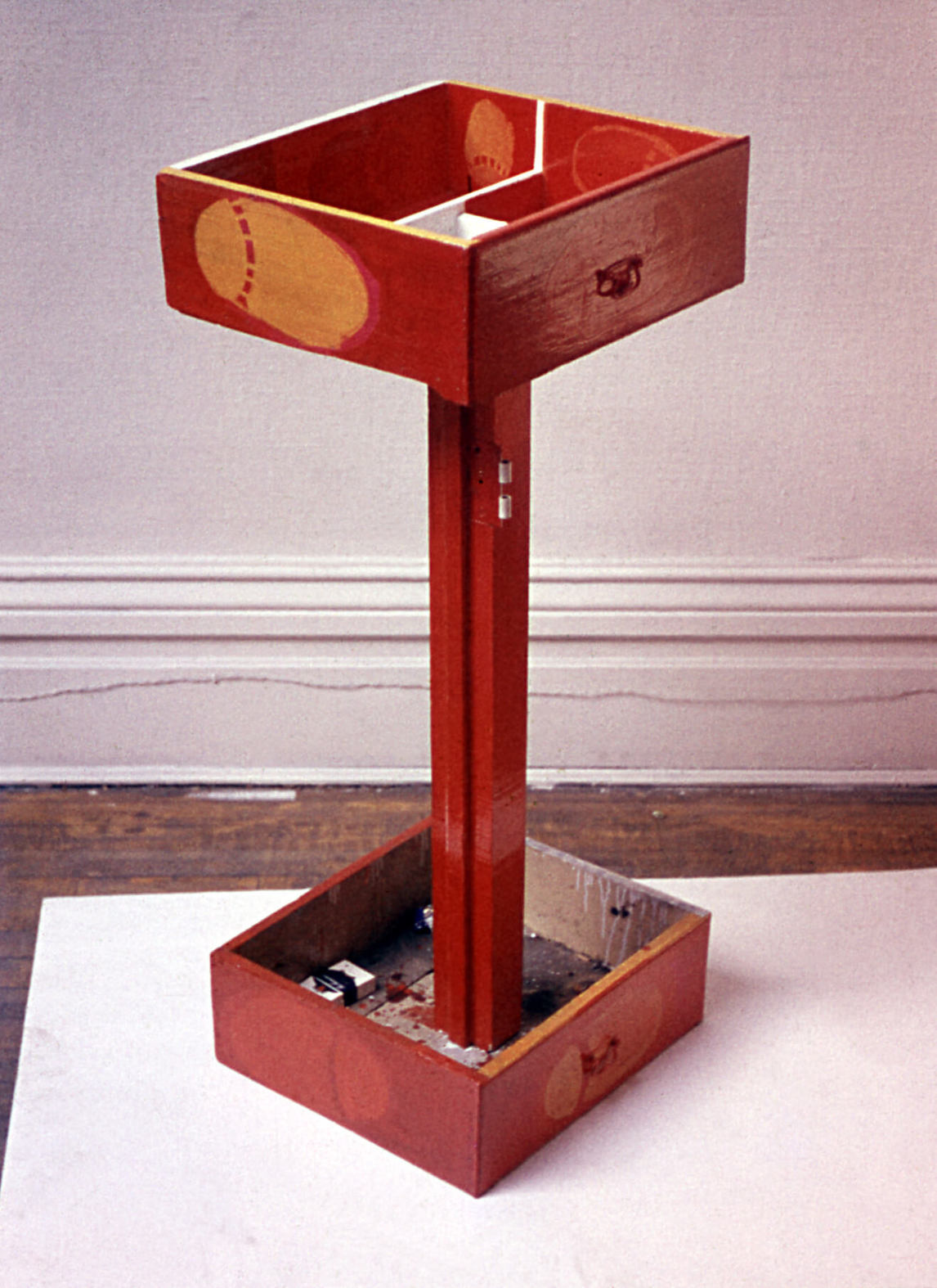 Art Canada Institute, Greg Curnoe, A Pair of Drawers, 1961