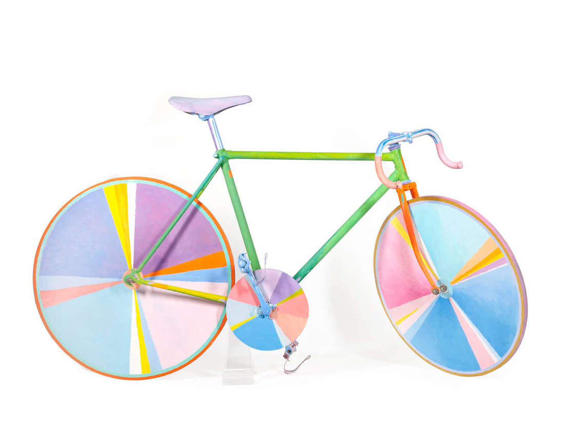 Art Canada Institute, Greg Curnoe, Funny Bicycle, December 1985–May 20, 1986,
