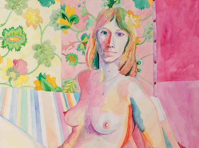 Greg Curnoe,Homage to Van Dongen #1 (Sheila), 1978–79
