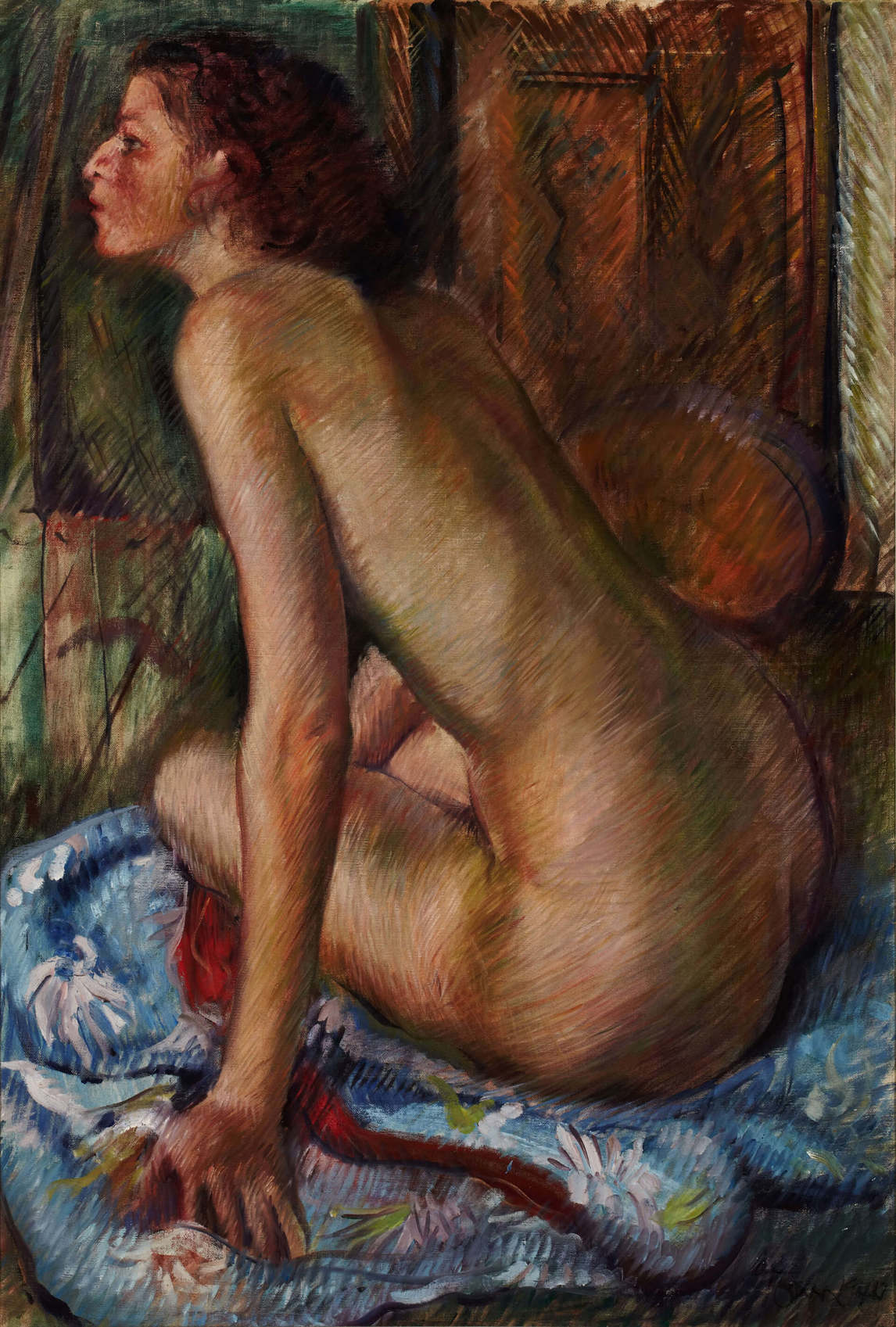 Art Canada Institute, Harold Town, Seated Nude, 1944