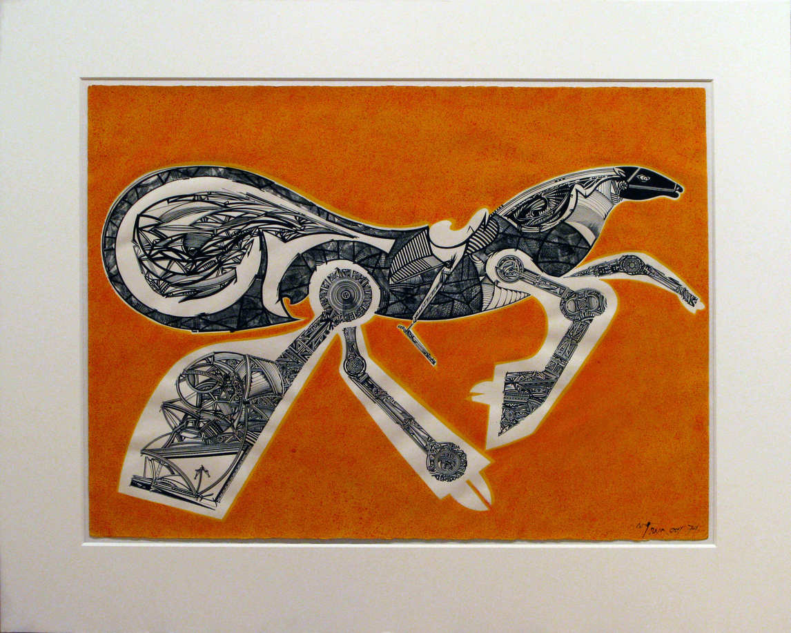 Art Canada Institute, Harold Town, Toy Horse No. 184, 1979