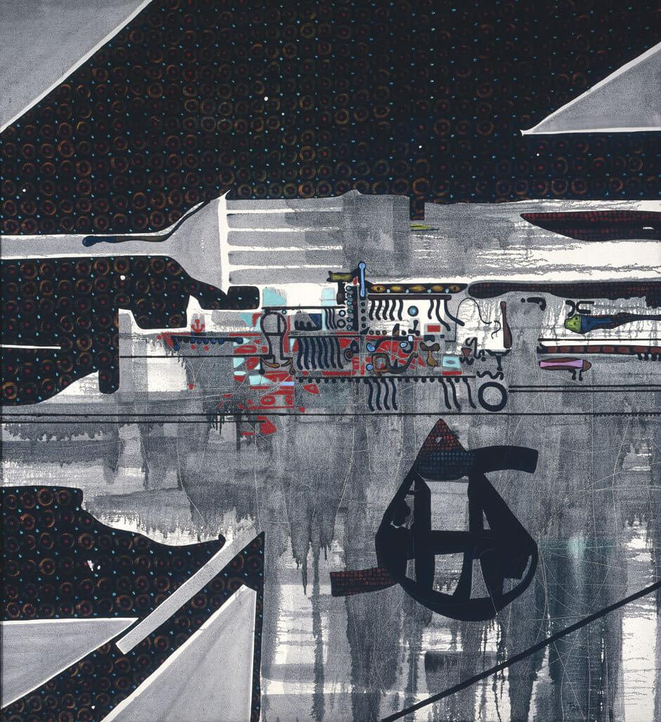 Harold Town,Tyranny of the Corner (Sashay Set), 1962