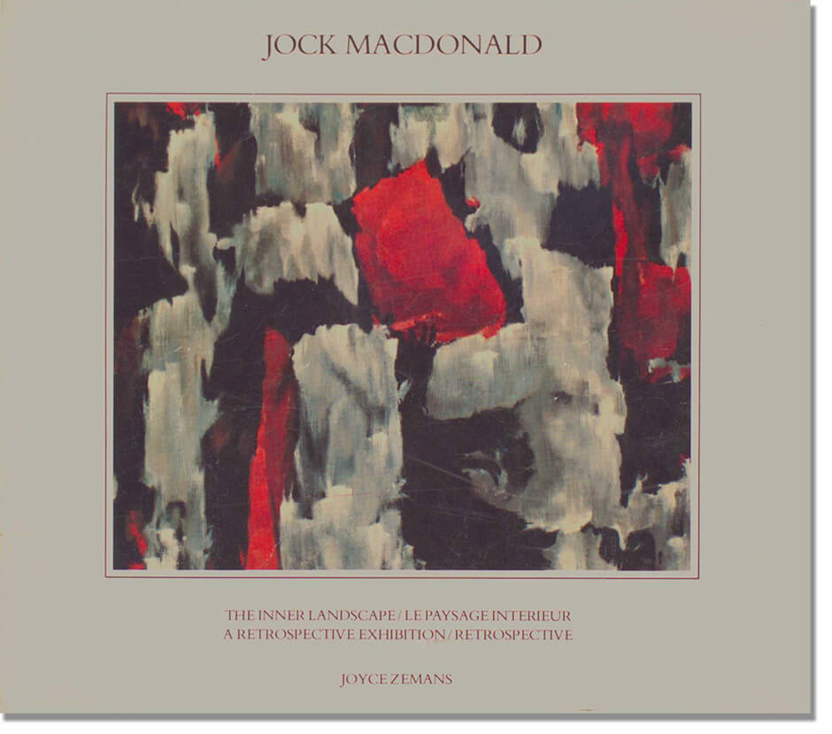 Art Canada Institute, Jock Macdonald, Cover of the exhibition catalogue for Jock Macdonald: The Inner Landscape, 1981.