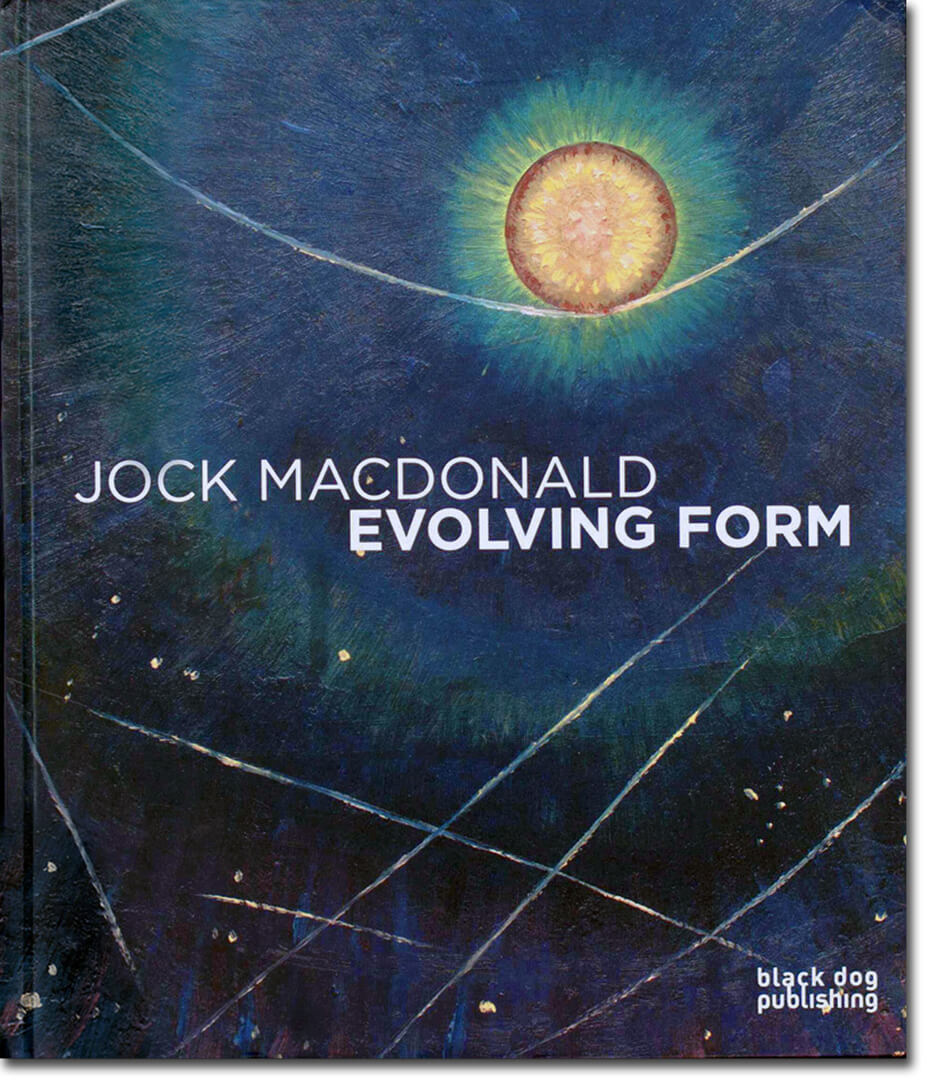 Art Canada Institute, Jock Macdonald, Cover of the exhibition catalogue Jock Macdonald: Evolving Form, 2015