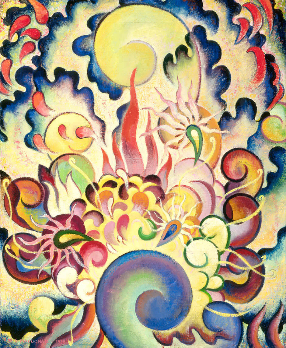 Art Canada Institute, Jock Macdonald, Chrysanthemum, 1938