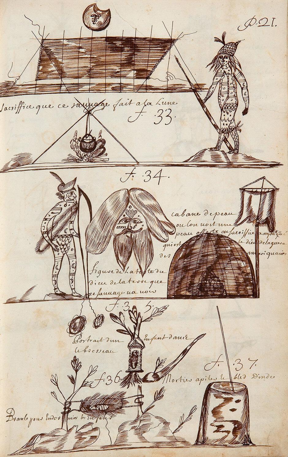 Louis Nicolas,Aboriginal Rituals, n.d.