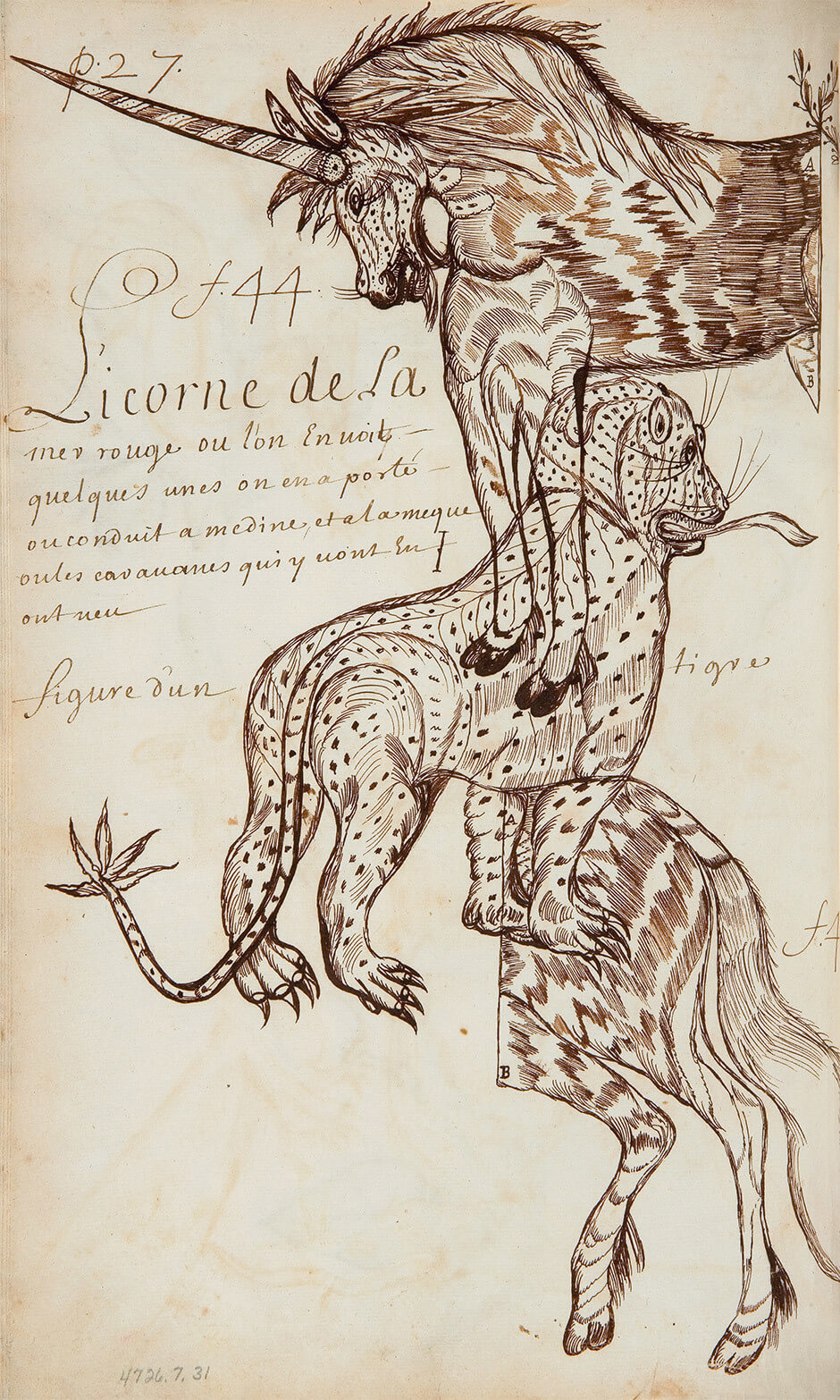 Louis Nicolas,Unicorn of the Red Sea, n.d.