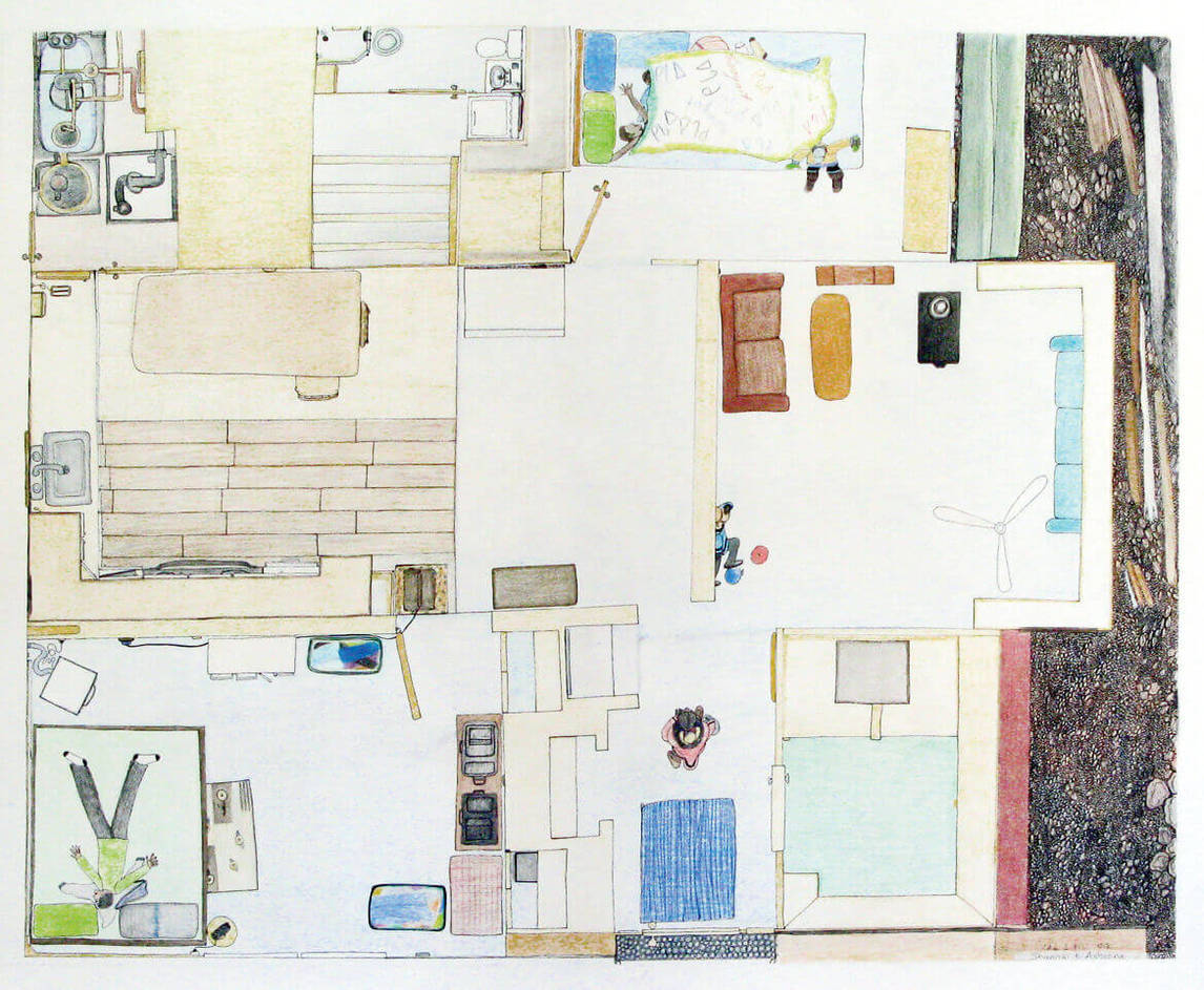 Art Canada Institute, Shuvinai Ashoona, Shuvinai's World—At Home, 2012