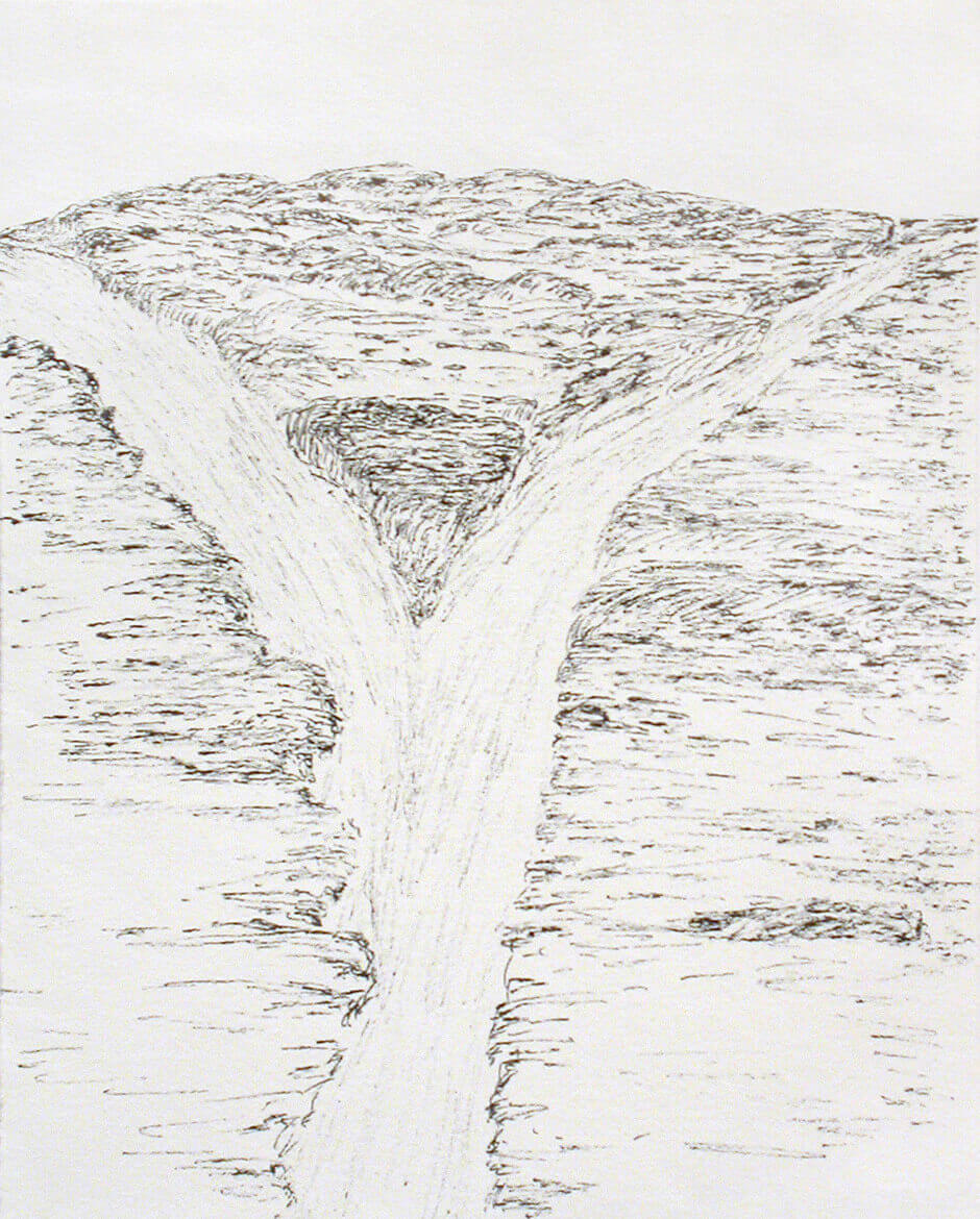 Art Canada Institute, Shuvinai Ashoona, Waterfall, 1993–94