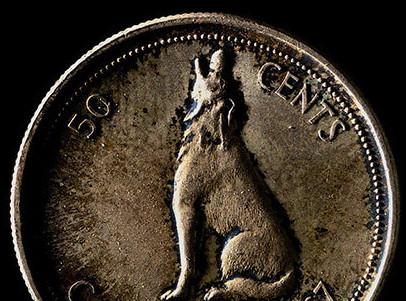 Alex Colville, Centennial Coins, 1967