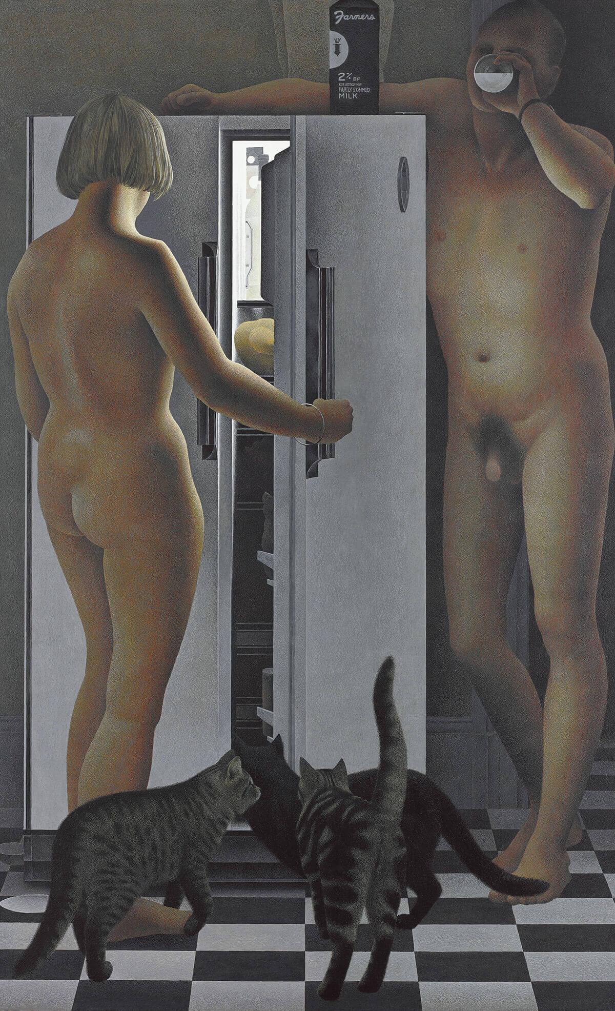 Alex Colville,Refrigerator, 1977