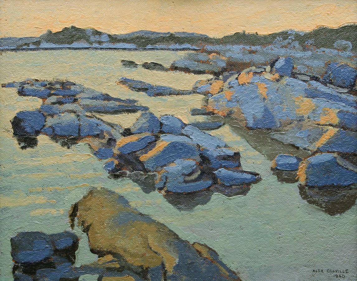 Ca s'est passé en août ! Art-books_25_alex-colville-untitled-seascape-contextual