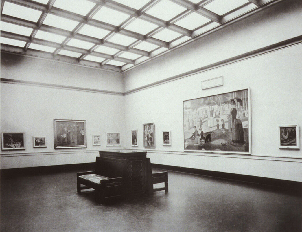Art Canada Institute, Installation of the Helen Birch Bartlett Memorial Collection, Art Institute of Chicago, 1926