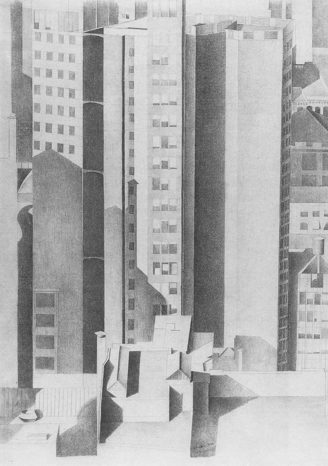 Art Canada Institute, Charles Sheeler, New York, 1920
