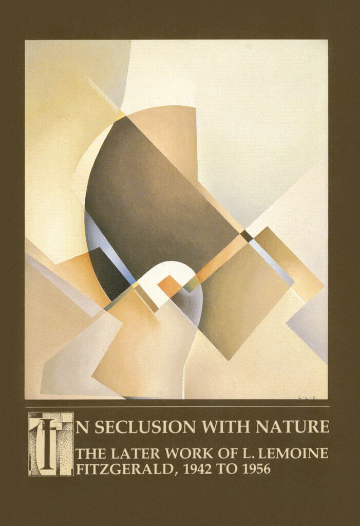 Art Canada Institute, Cover of exhibition catalogue In Seclusion with Nature: The Later Work of L. LeMoine FitzGerald, 1942 to 1956 (Winnipeg: Winnipeg Art Gallery 1988)
