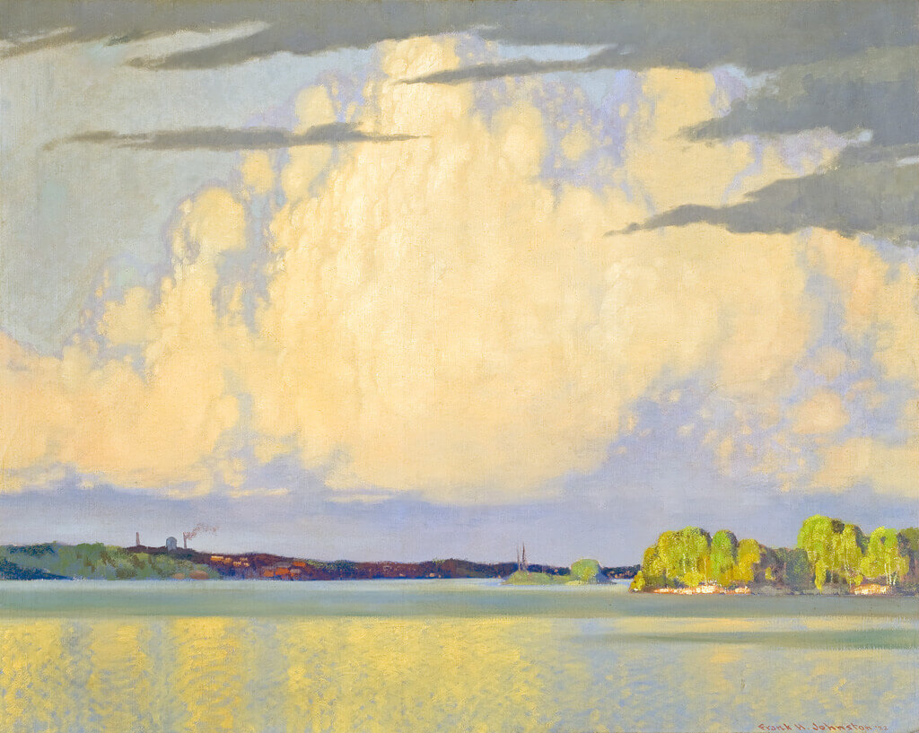 Art Canada Institute, Frank H. Johnston, Serenity, Lake of the Woods, 1922