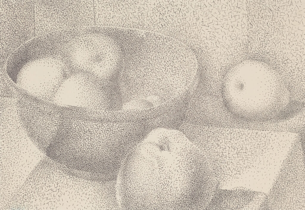 Art Canada Institute, Lionel LeMoine FitzGerald, Apples in a Bowl, 1947