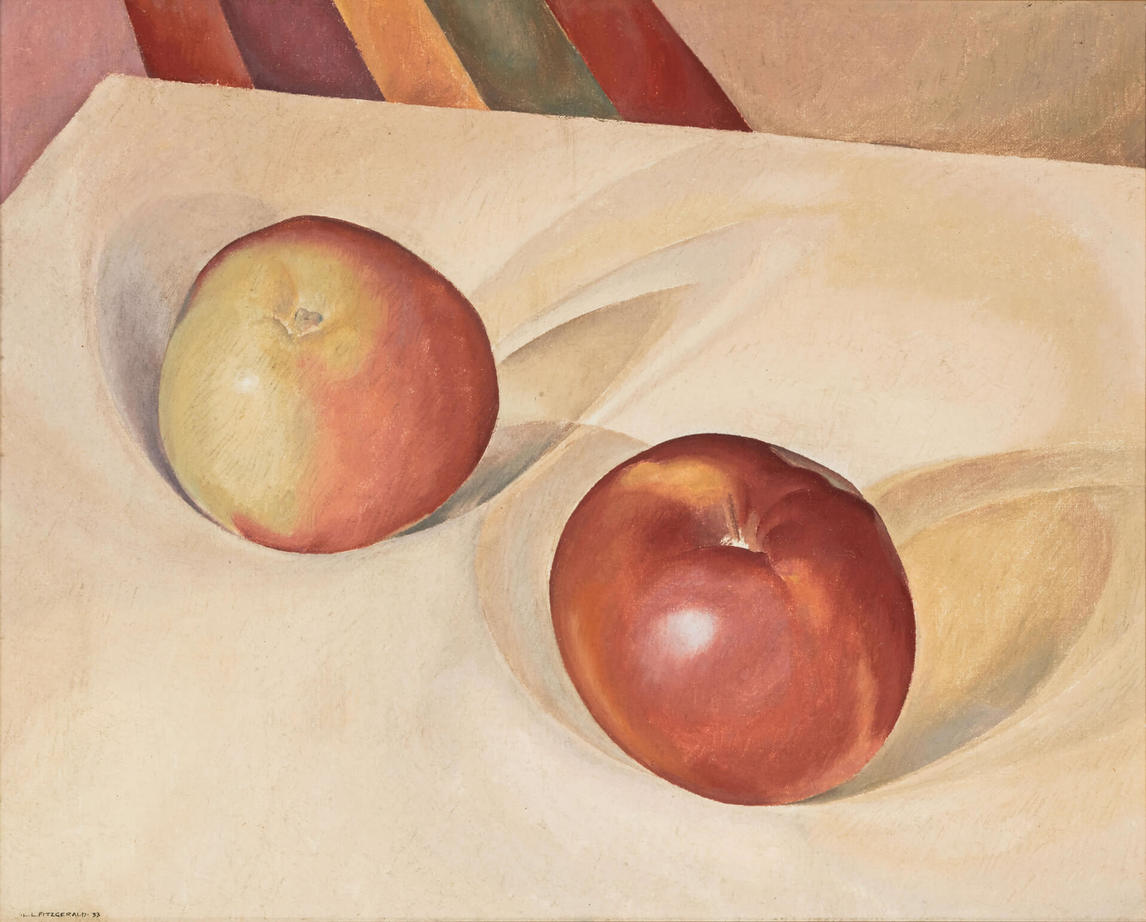 Art Canada Institute, Lionel LeMoine Fitzgerald, Apples, Still Life, 19