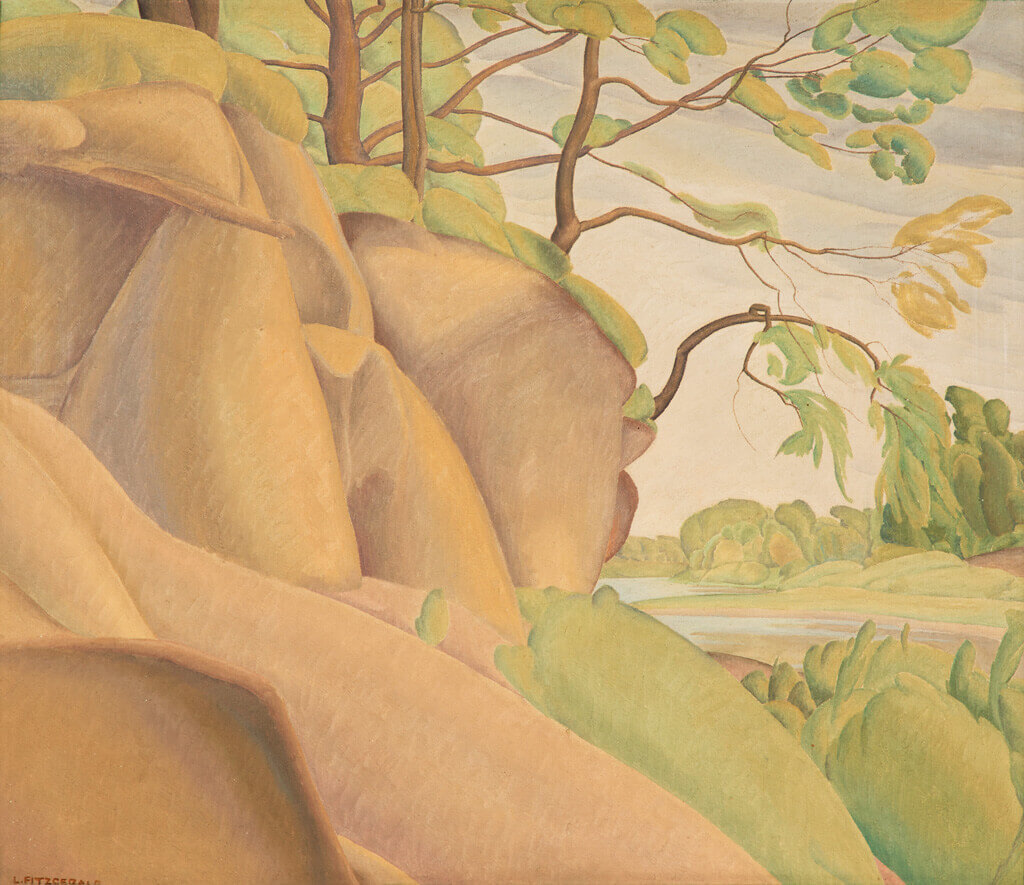 Art Canada Institute, Lionel LeMoine Fitzgerald, Assiniboine River, 1931