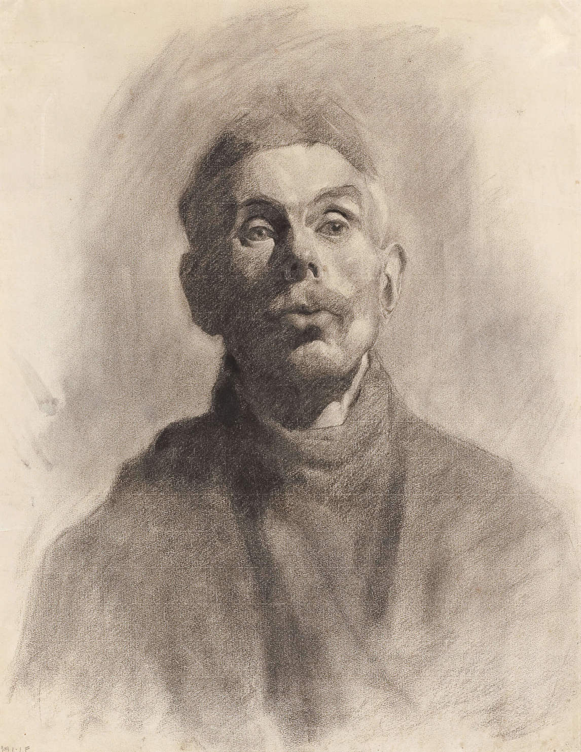 Art Canada Institute, Lionel LeMoine Fitzgerald, Bust of a Man, 1909
