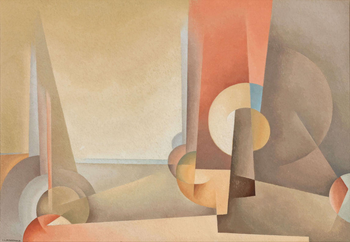 Art Canada Institute, Lionel LeMoine Fitzgerald, Composition No. 5, 1953