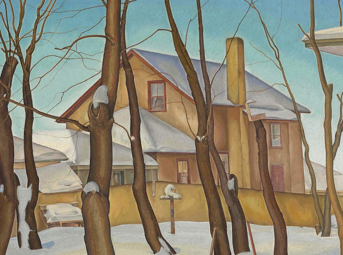 Lionel LeMoine FitzGerald, La maison du docteur Snyder, 1931