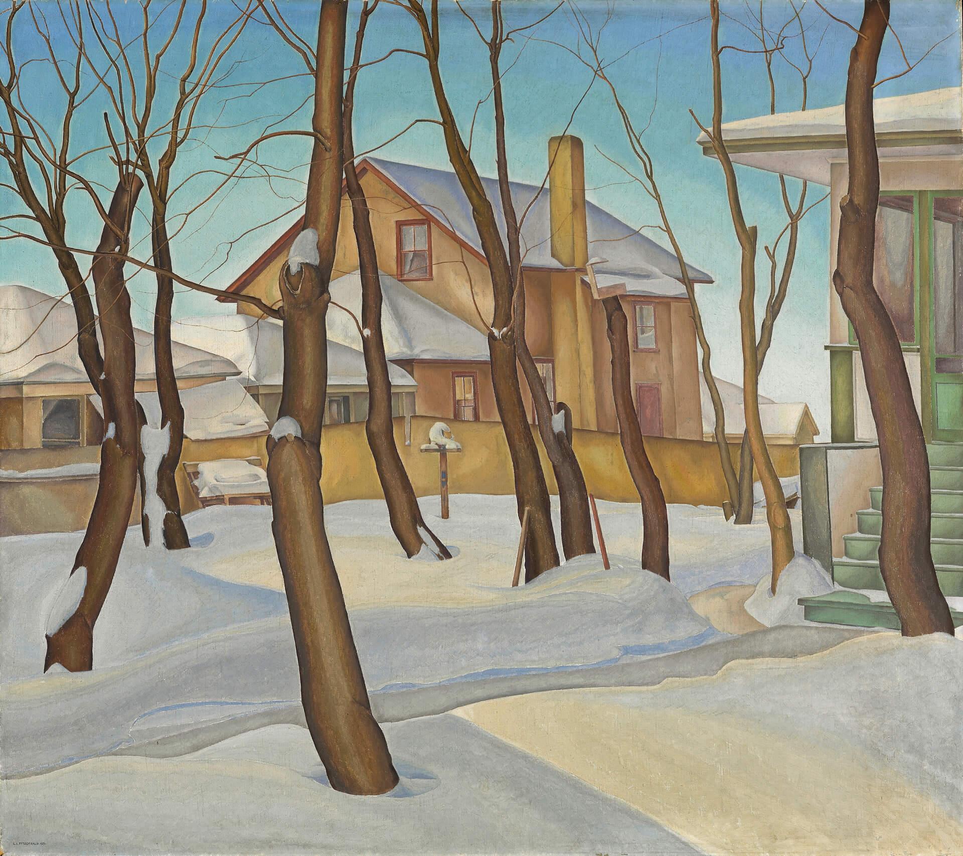 Lionel LeMoine FitzGerald, Doc Snyder's House, 1931
