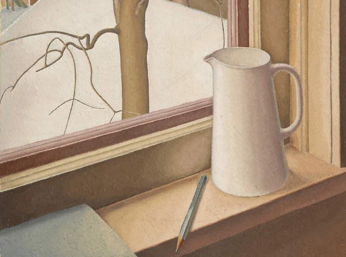 Lionel LeMoine FitzGerald, D'une fenêtre d'en haut, l'hiver, v.1950-1951