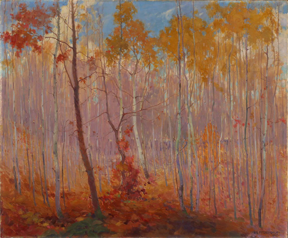 Art Canada Institute, Lionel LeMoine Fitzgerald, Late Fall, Manitoba, 1917