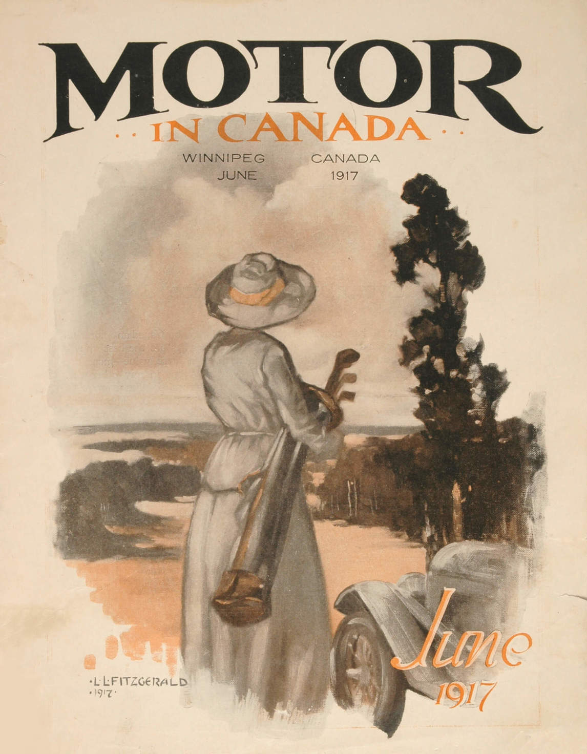 Art Canada Institute, Lionel LeMoine Fitzgerald, Motor in Canada, June 1917