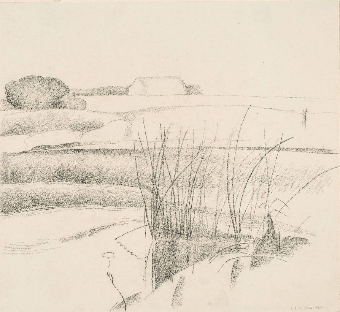 Art Canada Institute, Lionel LeMoine FitzGerald, Pepper's Farm, August 1934