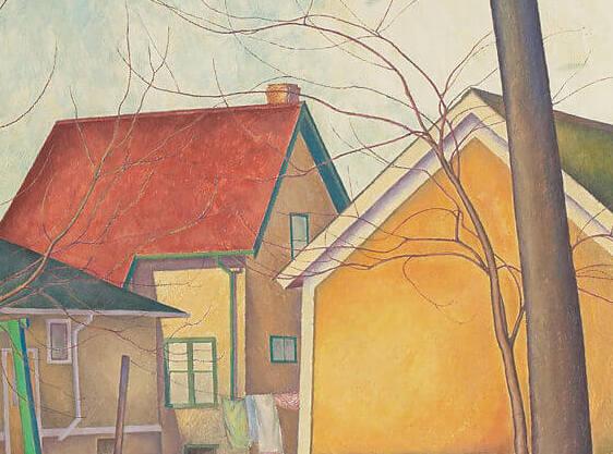 Lionel LeMoine FitzGerald, La clôture de Pritchard, v.1928