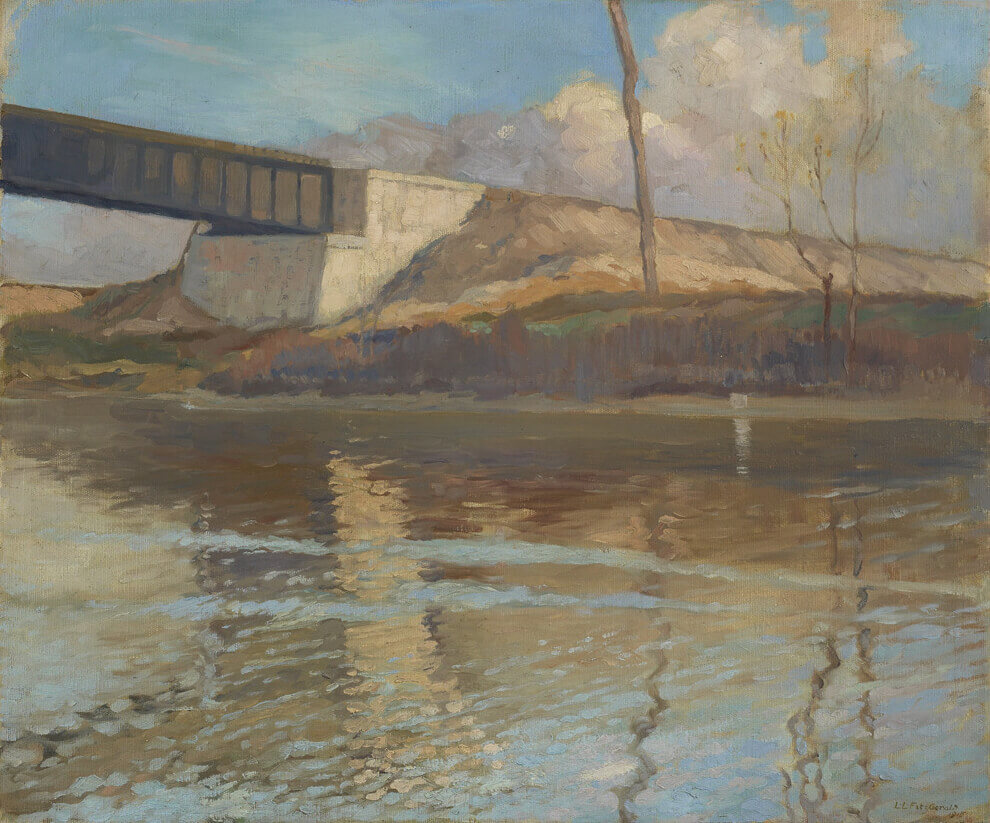 Art Canada Institute, Lionel LeMoine Fitzgerald, Railway Bridge, 1915