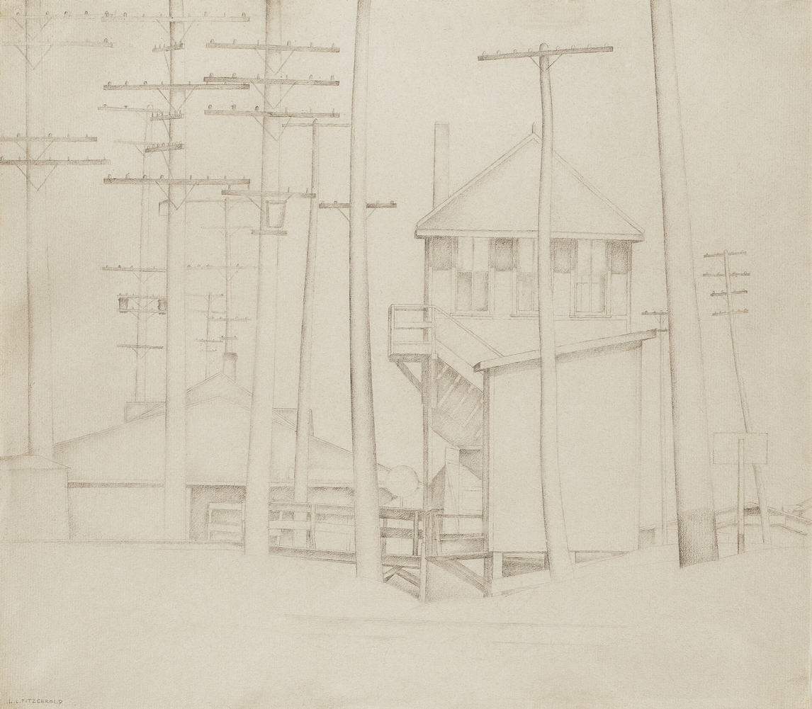 Art Canada Institute, Lionel LeMoine Fitzgerald, Railway Station, c. 1931–32