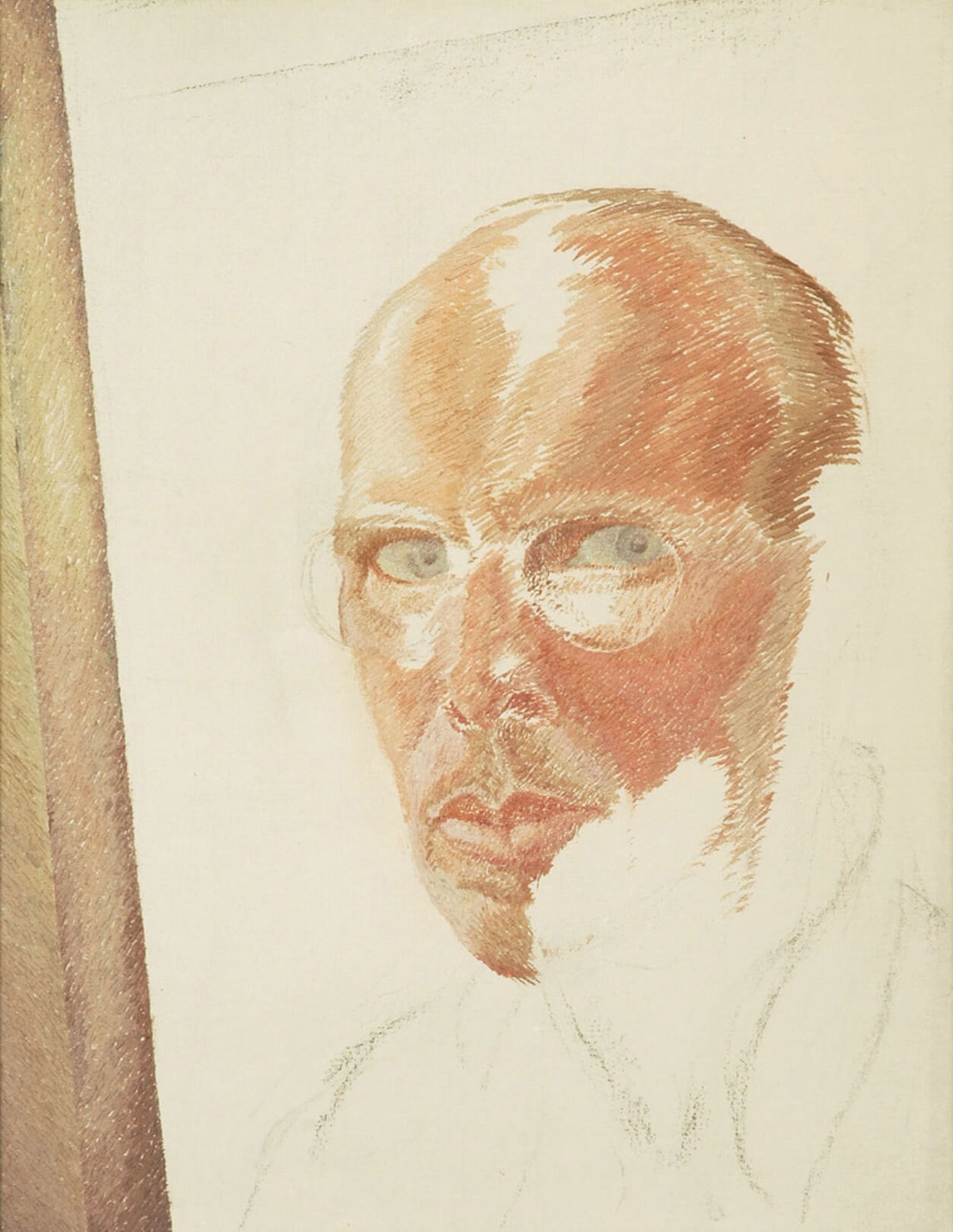 Art Canada Institute, Lionel LeMoine Fitzgerald, Self-Portrait, c. 1945