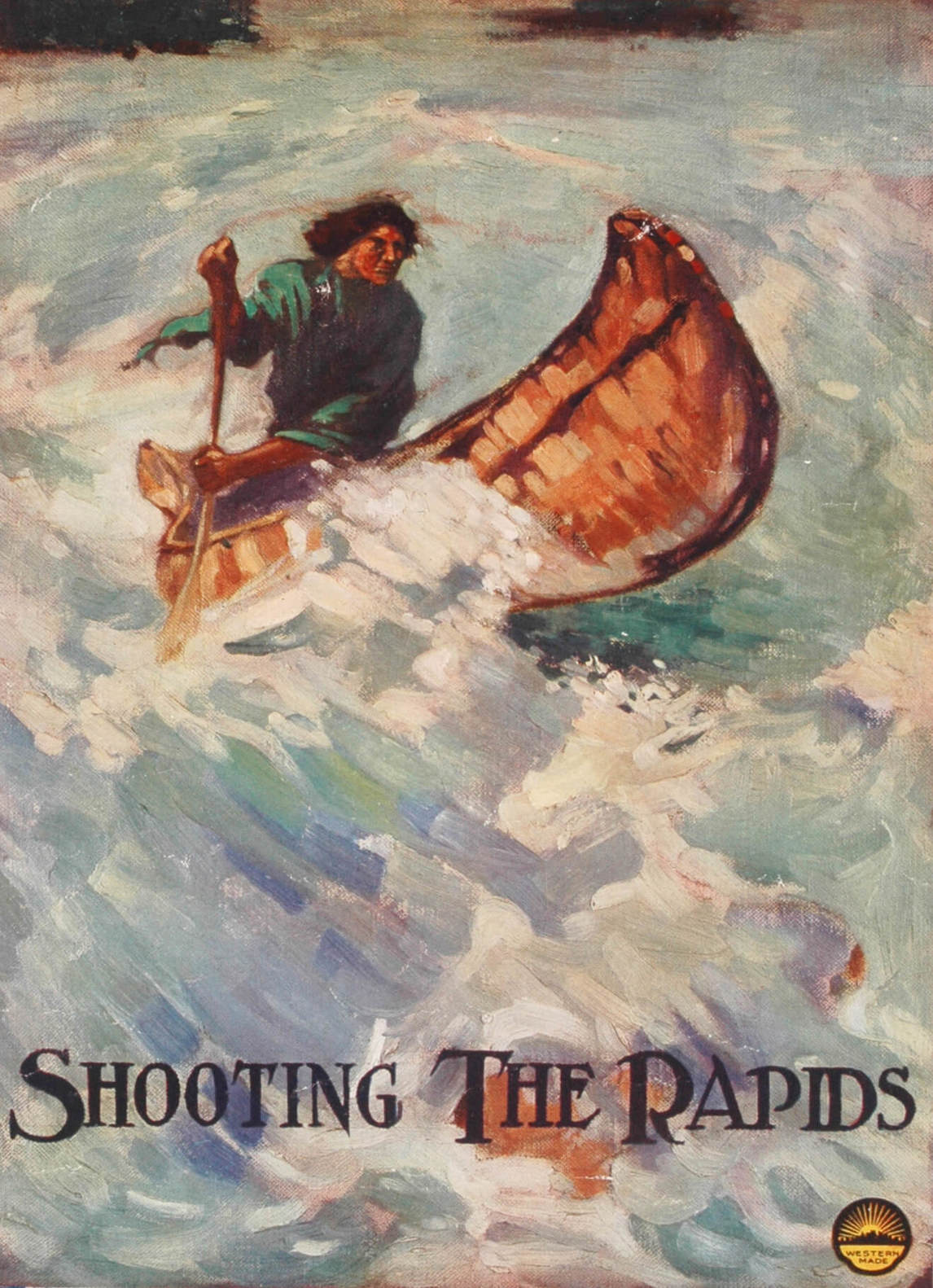 Art Canada Institute, Lionel LeMoine Fitzgerald, Shooting the Rapids, c. 1915