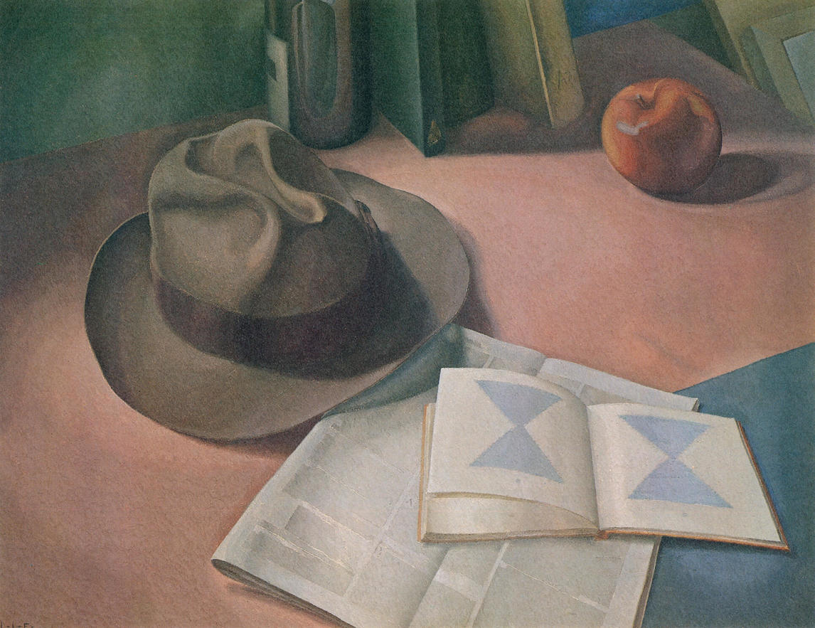 Art Canada Institute, Lionel LeMoine Fitzgerald, Still Life with Hat, 1955
