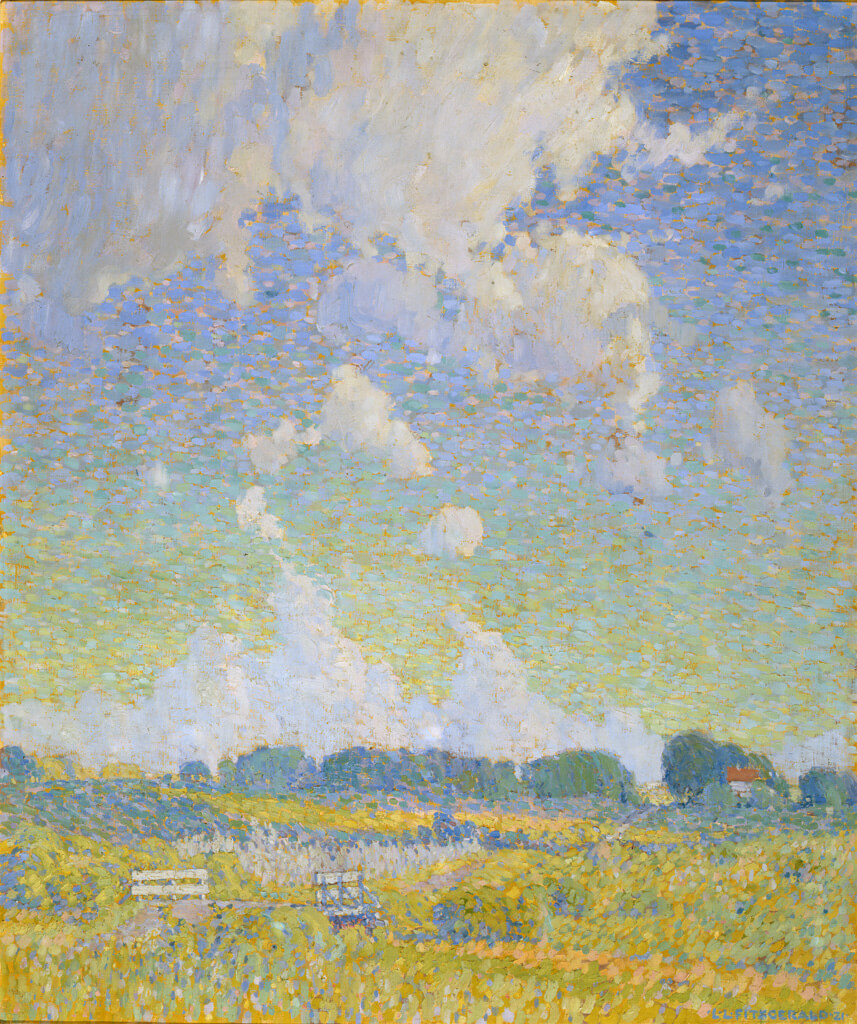 Art Canada Institute, Lionel LeMoine Fitzgerald, Summer Afternoon, The Prairie, 1921