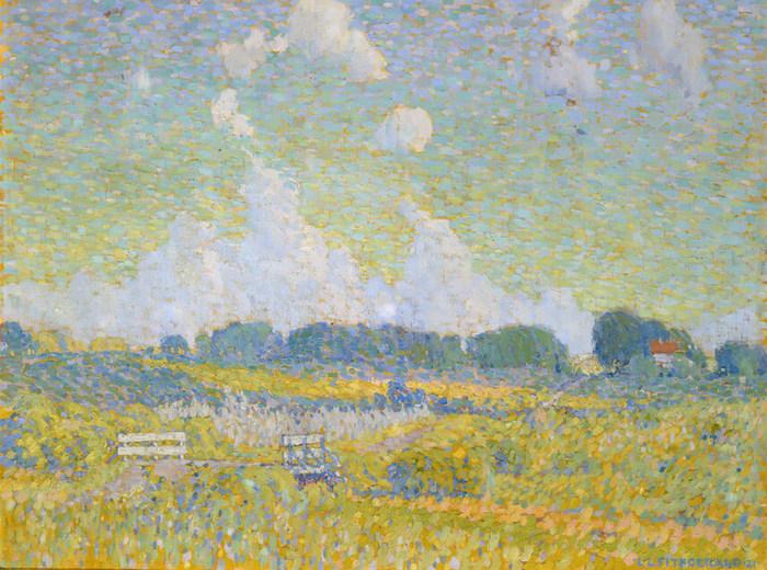 Lionel LeMoine FitzGerald, Après-midi d'été, les Prairies, 1921