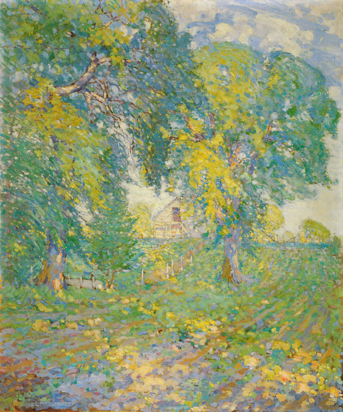 Art Canada Institute, Lionel LeMoine Fitzgerald, Summer, East Kildonan, 1920