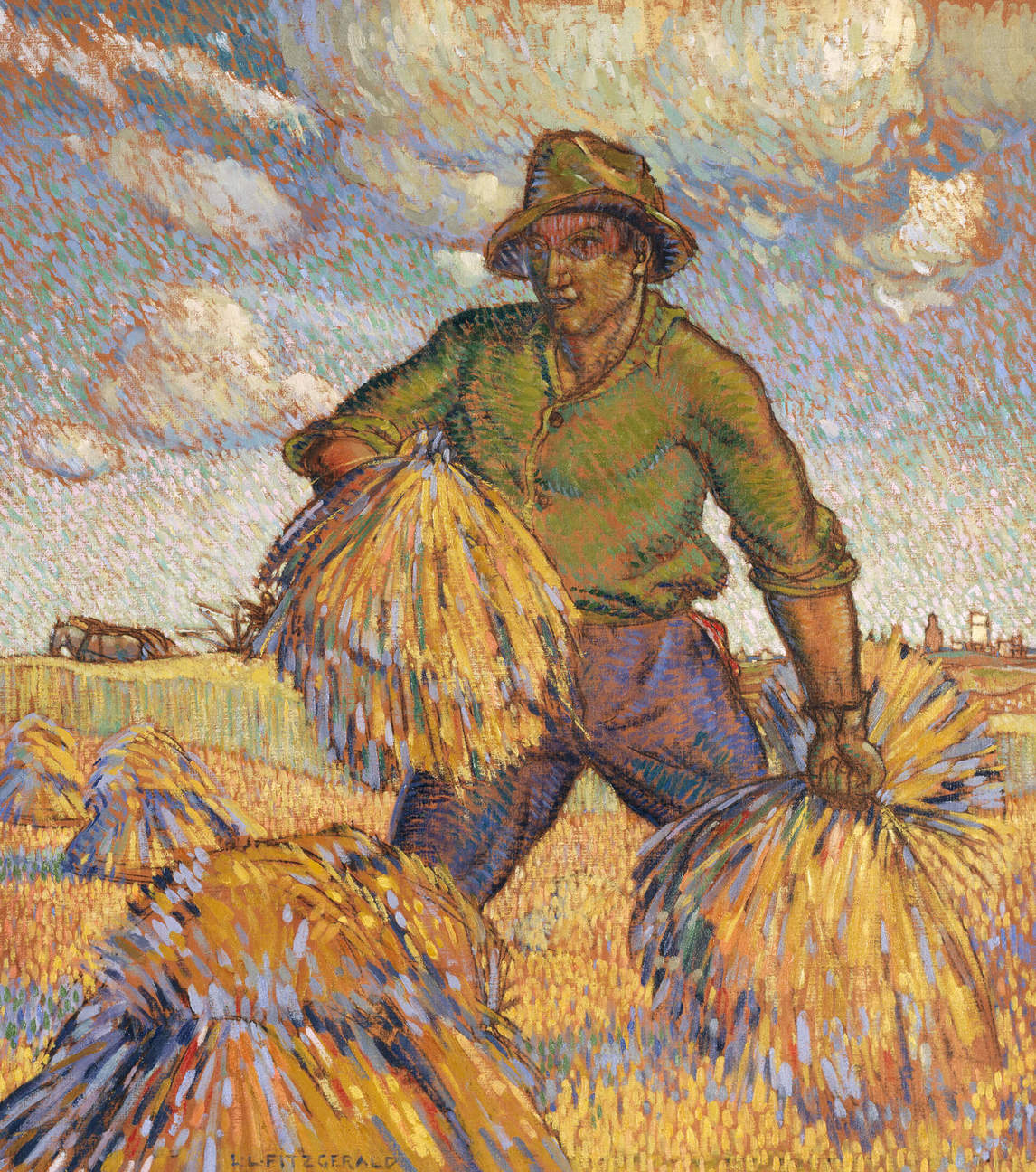 Art Canada Institute, Lionel LeMoine Fitzgerald, The Harvester, c. 1921