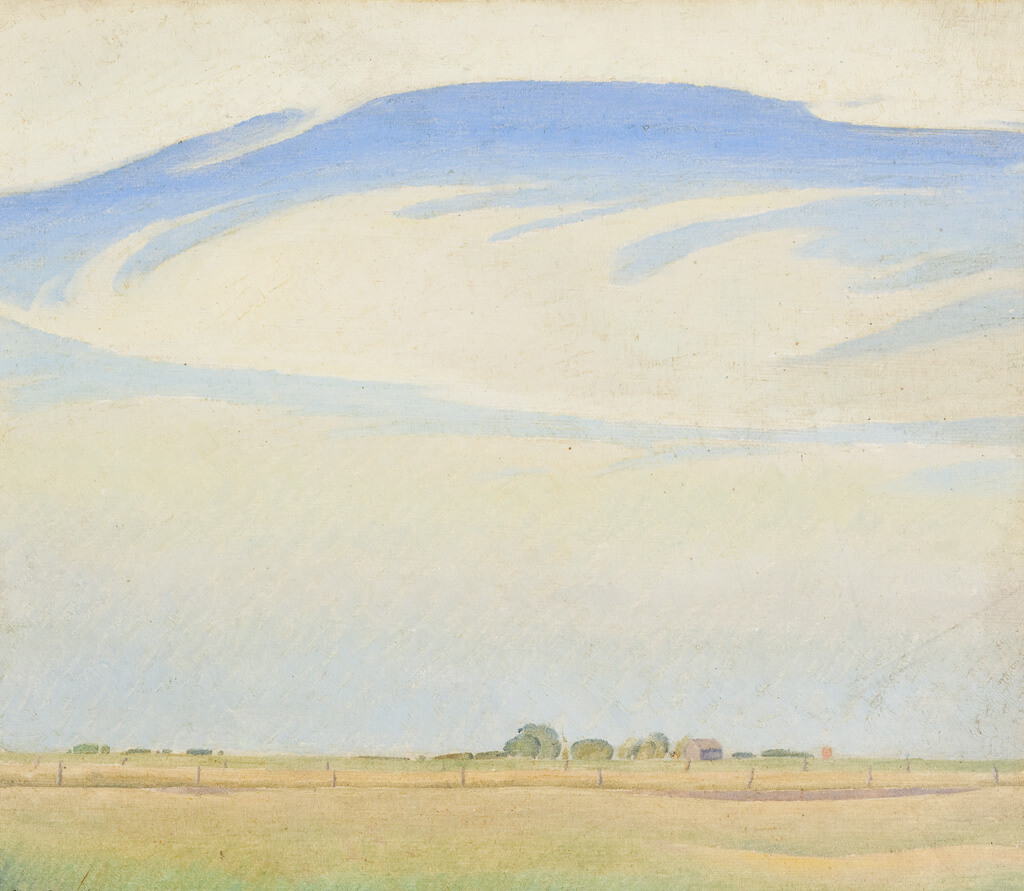 Art Canada Institute, Lionel LeMoine Fitzgerald, The Prairie, 1929