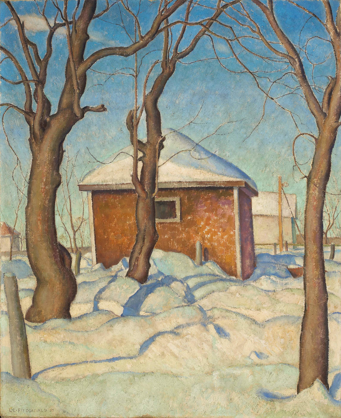 Art Canada Institute, Lionel LeMoine Fitzgerald, Williamson's Garage, 1927