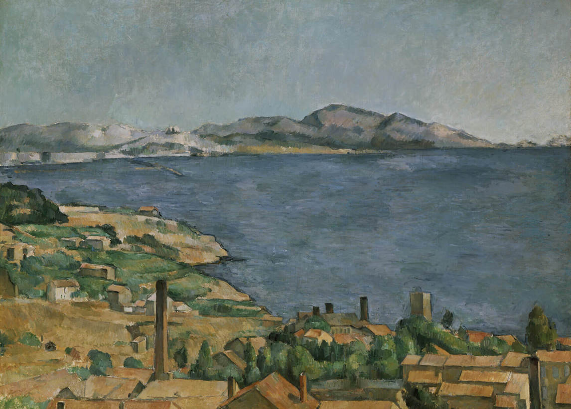 Art Canada Institute, Paul Cézanne, The Gulf of Marseilles Seen from L'Estaque, c. 1885