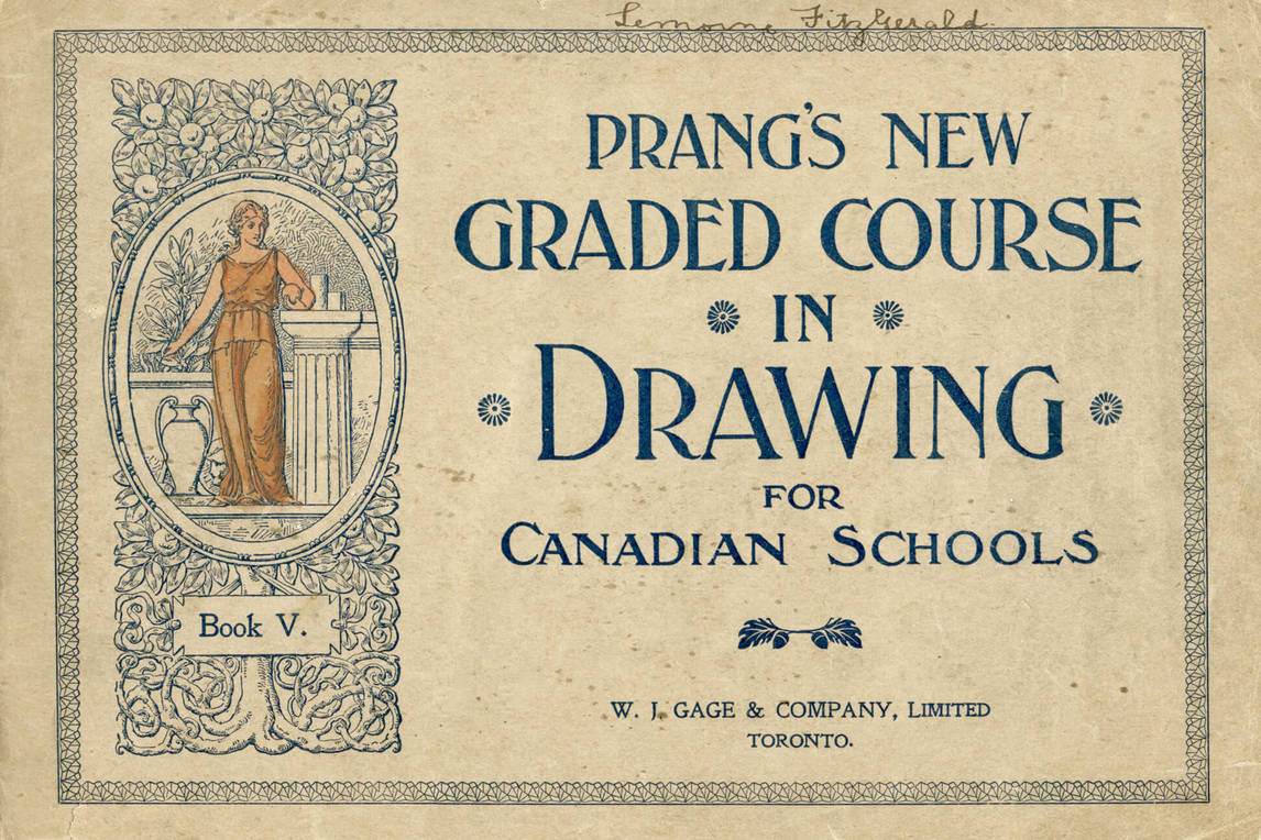 Art Canada Institute, Prang's New Graded Course in Drawing for Canadian Schools, Book V