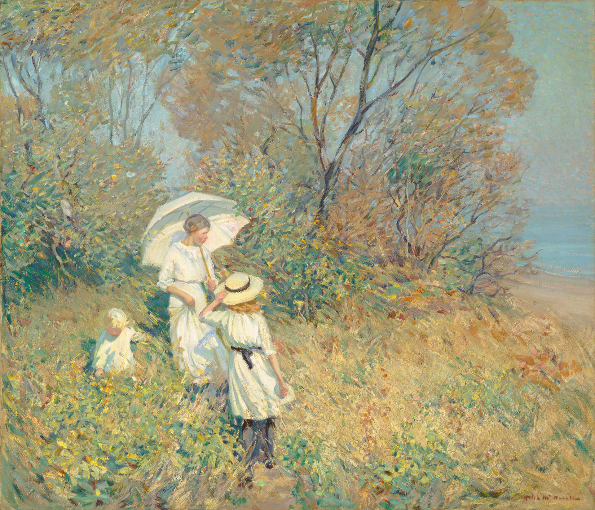Helen McNicoll, Sunny September, 1913