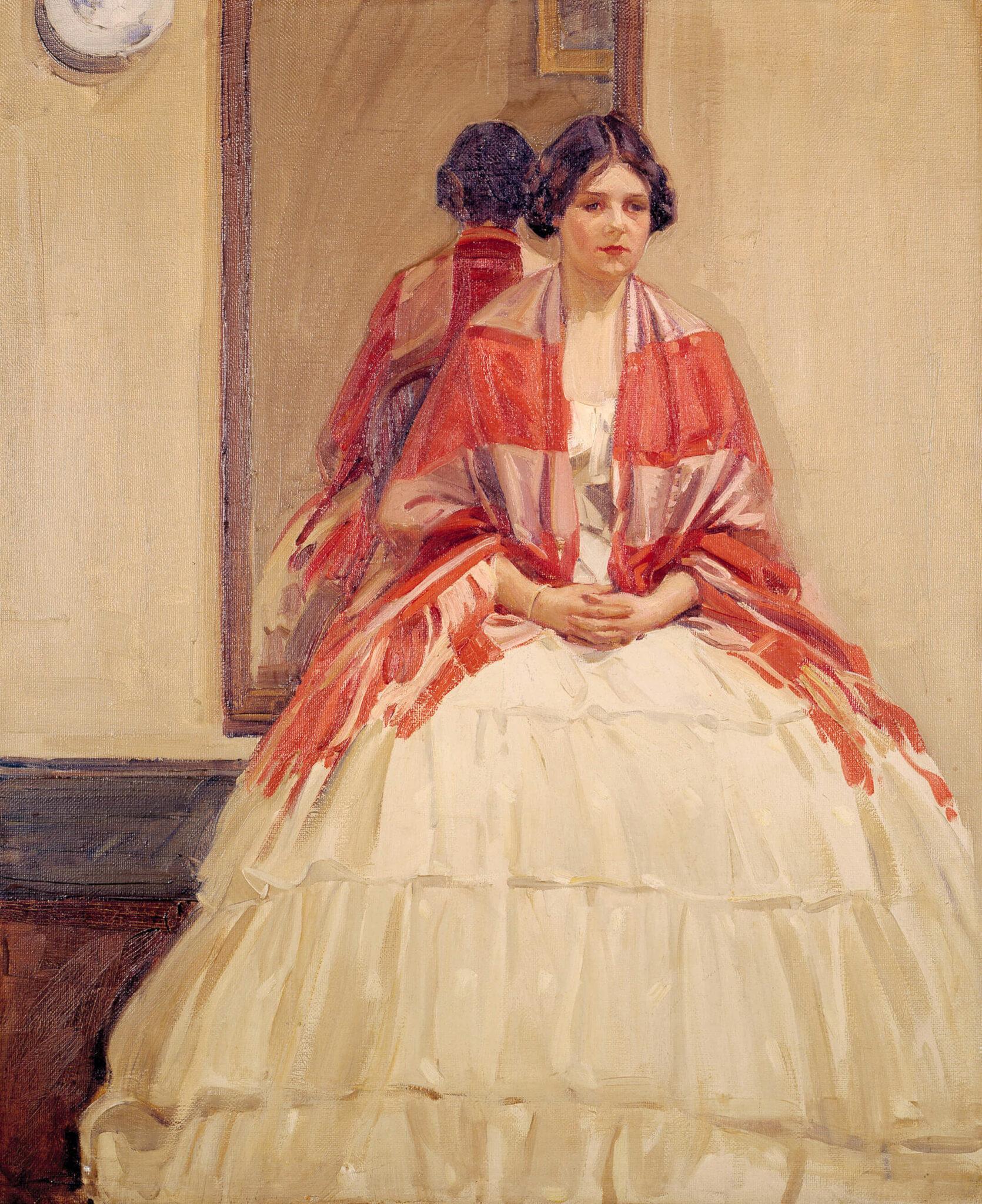 Helen McNicoll, The Victorian Dress, 1914