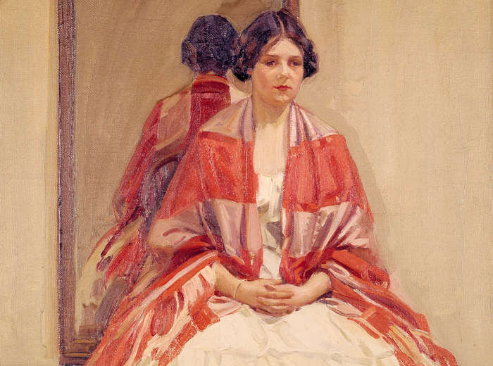 Helen McNicoll, The Victorian Dress, 1914