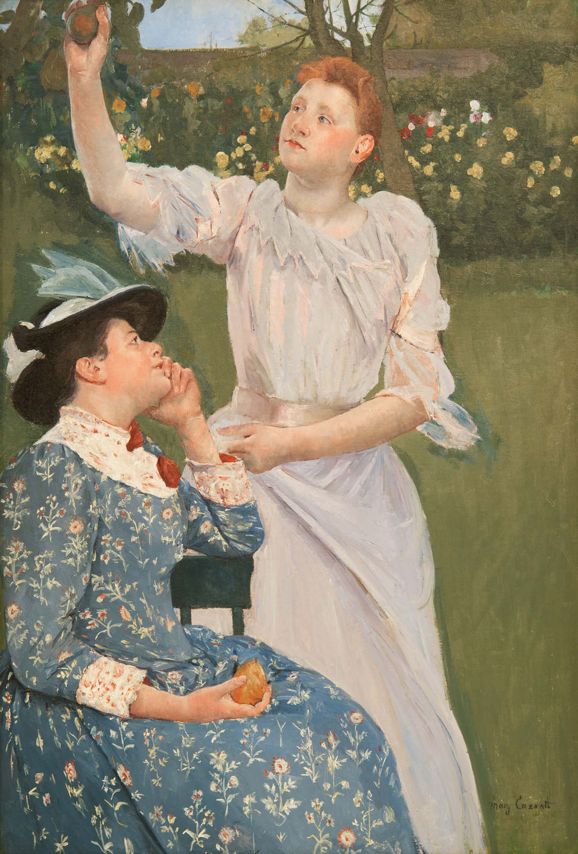 Young Women Picking Fruit, 1891, Mary Cassatt